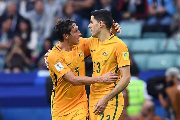 Mark Milligan and Tom Rogic