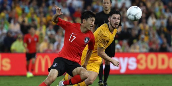 Caltex Socceroos v Korea Republic