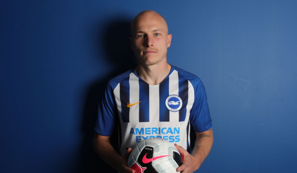Mooy has joined Brighton and Hove Albion on a one-year loan deal
