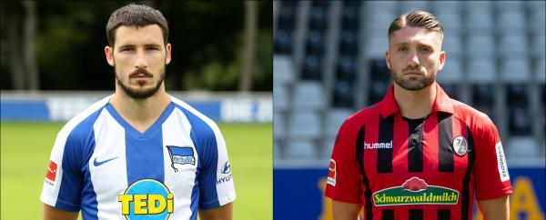 Leckie and Borrello are ready to mix it with some of the world's best players when the Bundesliga season kicks off