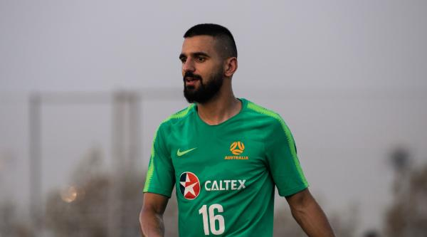 Behich is relishing the opportunity to be a Caltex Socceroos leader