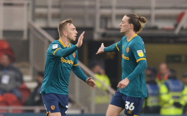 Jackson Irvine helped Hull City come back in the Championship last night