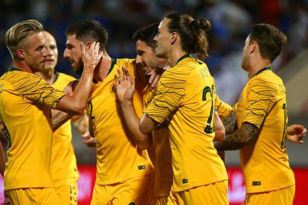 Socceroos celebrate