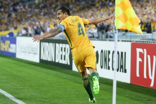 No surprise that it was Tim Cahill who was Australia's leading scorer in the last 10 years, finding the net 31 times