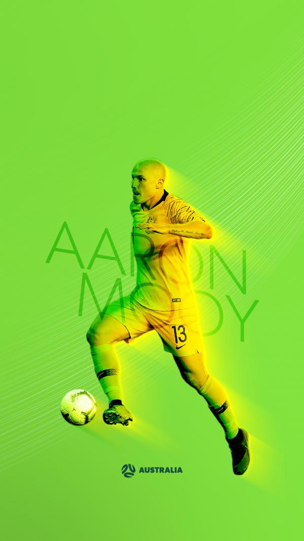 Socceroos Aaron Mooy mobile wallpaper