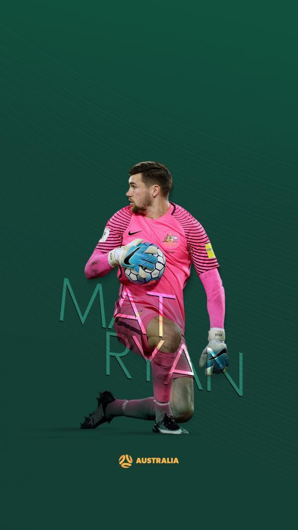Socceroos Maty Ryan wallpaper