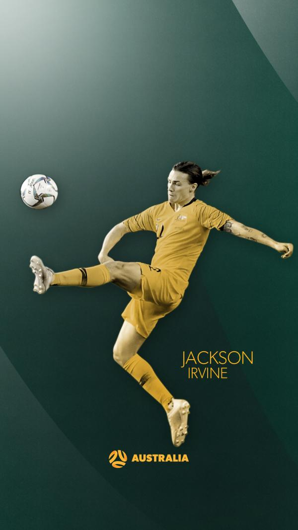 Jackson Irvine mobile wallpaper