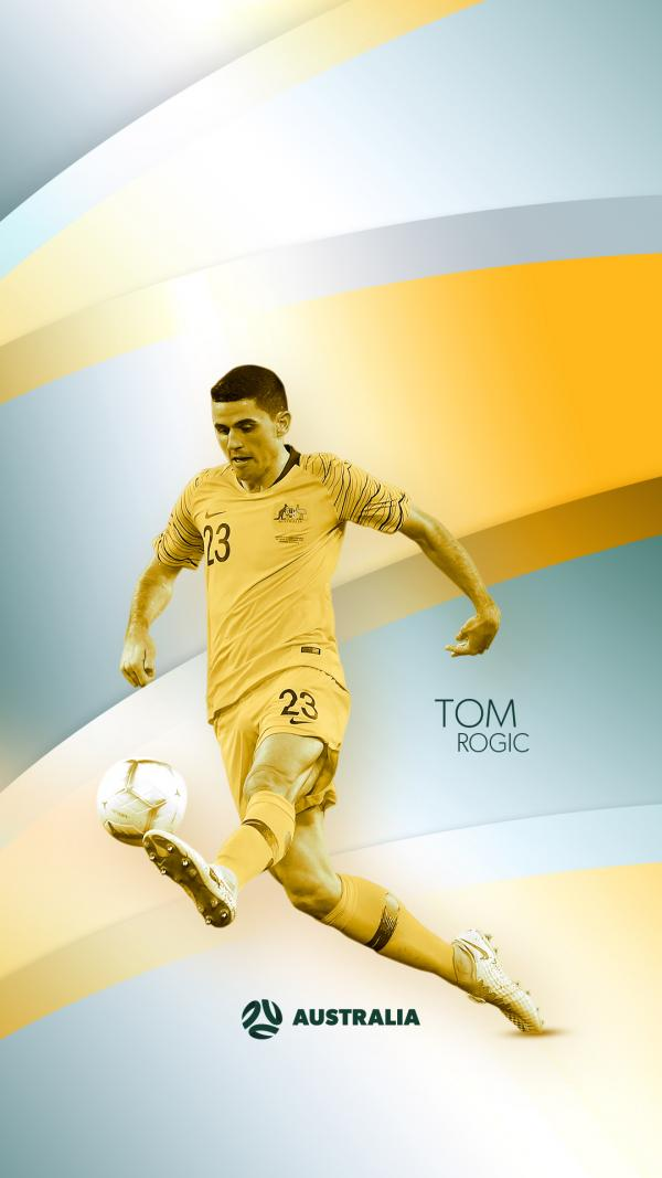 Tom Rogic mobile wallpaper