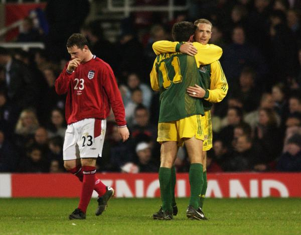 Flashback Friday - Socceroos v England