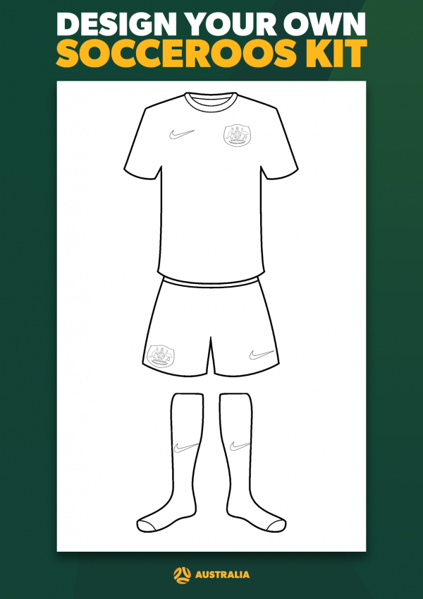 Design your own Socceroos jersey