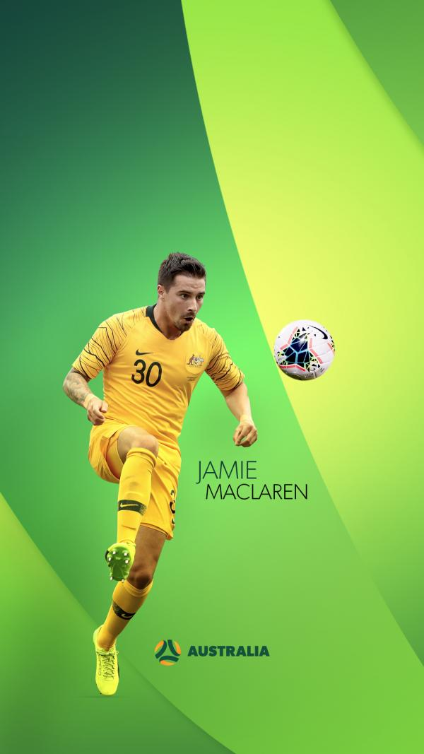 Jamie Maclaren mobile wallpaper
