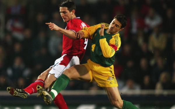 Paul Okon Socceroos Australia 2003