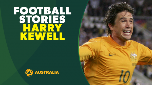 Harry Kewell Football Stories Socceroos