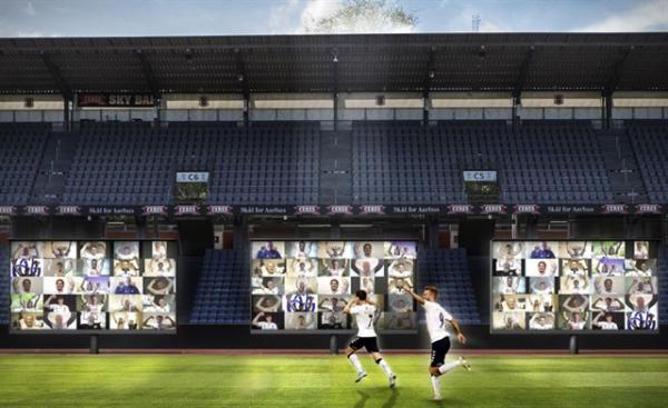 AGF Aarhus virtual grandstand