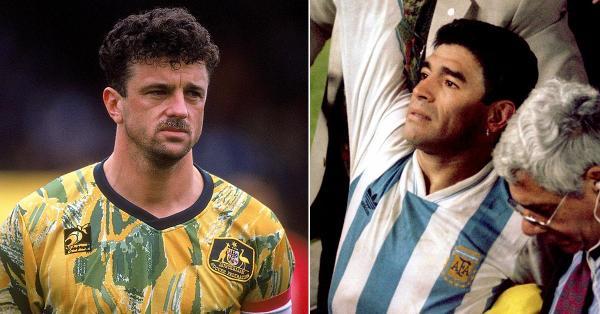 Graham Arnold Diego Maradona