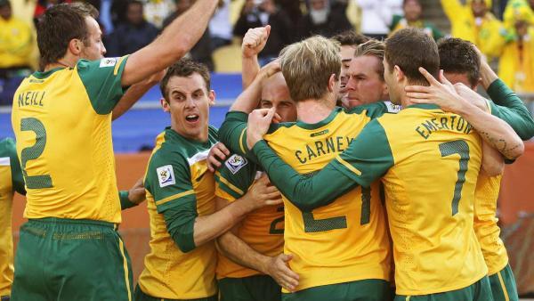 Brett Holman socceroos world cup 2010