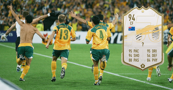 Socceroos FUT 21 icon card