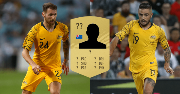 The top five Socceroos in each key FIFA 21 statistic