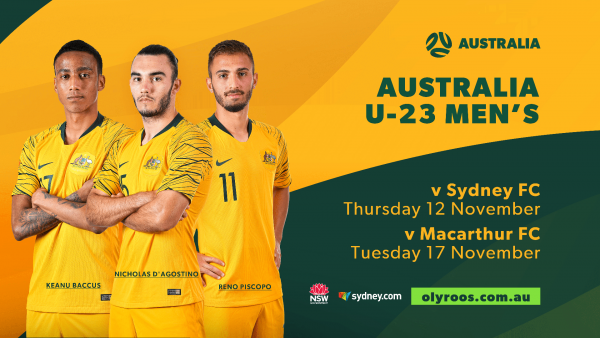 Australia U-23 v Sydney FC & Macarthur FC