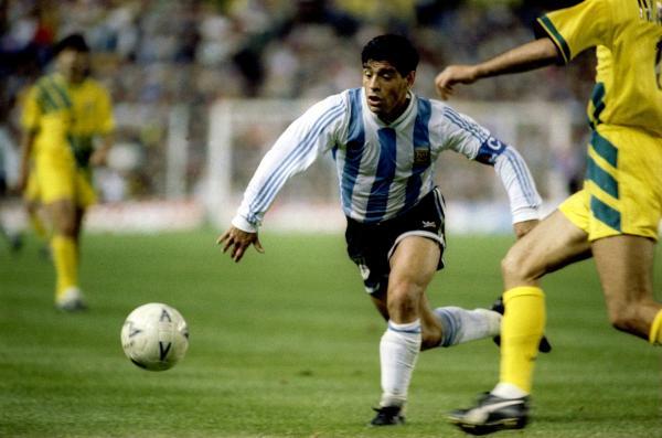 Diego Maradona v Socceroos
