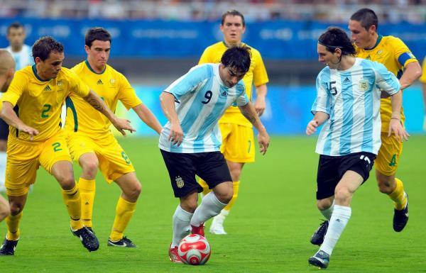 Australia Argentina 2008 Olympics