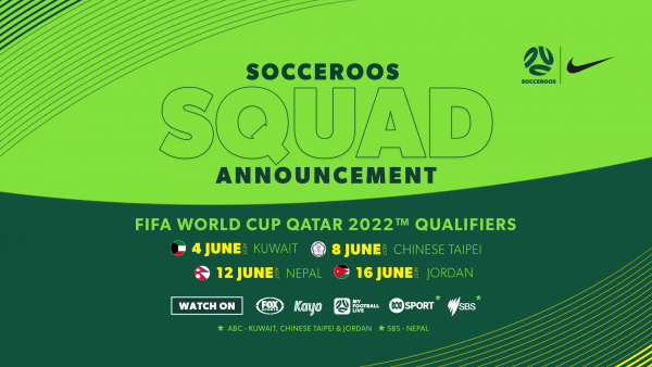 Socceroos Squad Announcement