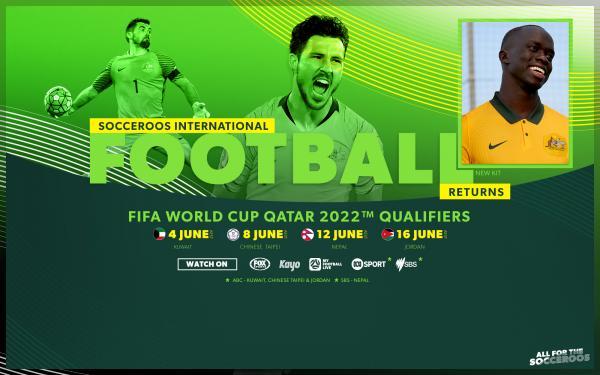 Socceroos June World Cup