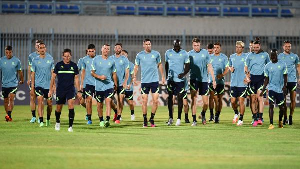 Socceroos Squad Training
