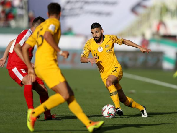 Gallery: Best pictures from Socceroos v Palestine
