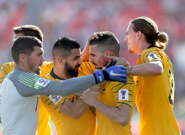 Social media reacts to the Socceroos' big win over Palestine