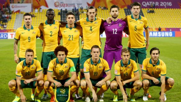 The Olyroos starting XI for their AFC U-23 Championship match with Jordan.