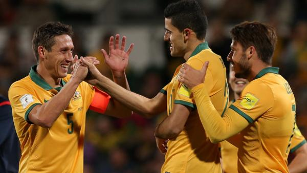 Tom Rogic netted inside 10 minutes as Australia proved too strong for Bangladesh.