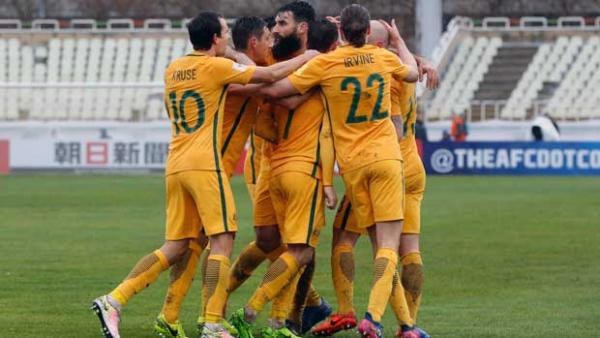 The Caltex Socceroos were forced to share the spoils against a spirited Iraq in Tehran.