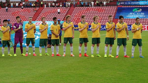 The Joeys starting XI that beat Japan at the AFC U-16 Championship.