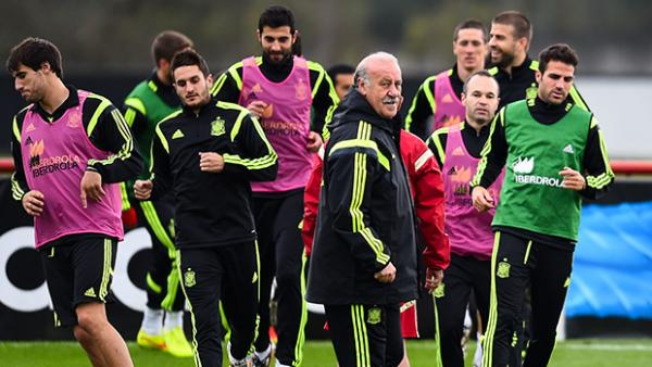 Vicente Del Bosque is set to make a call on his coaching future with Spain.