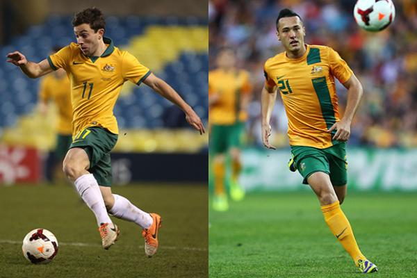 f8fb7fa8b Tommy Oar and Jason Davidson are part of the next generation of Socceroos  hoping to make