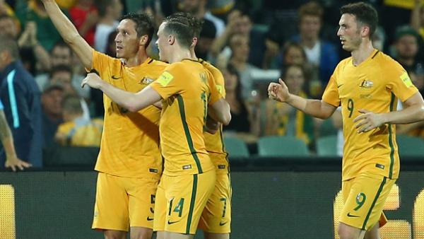 Mark Milligan came off the bench to make it 3-0 from the penalty spot.