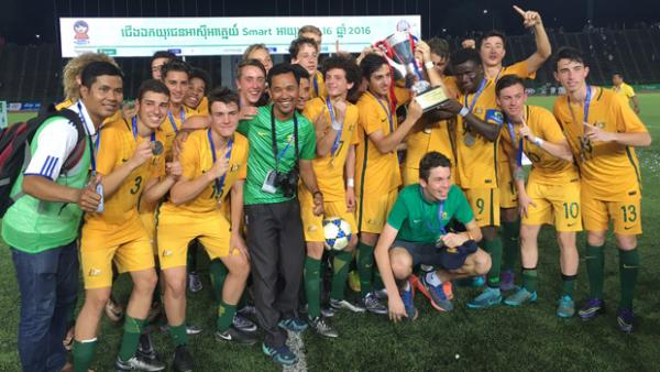 The Joeys won the AFF U-16 title overnight.