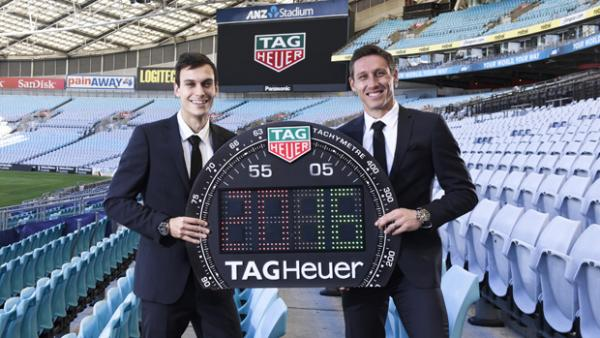 TAG Heuer has been announced as the Official Watch and the Official Timekeeper of the Caltex Socceroos.