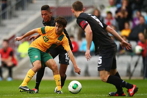 Young Socceroos handed tough Myanmar assignment