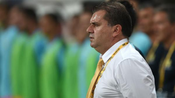 Caltex Socceroos boss Ange Postecoglou.