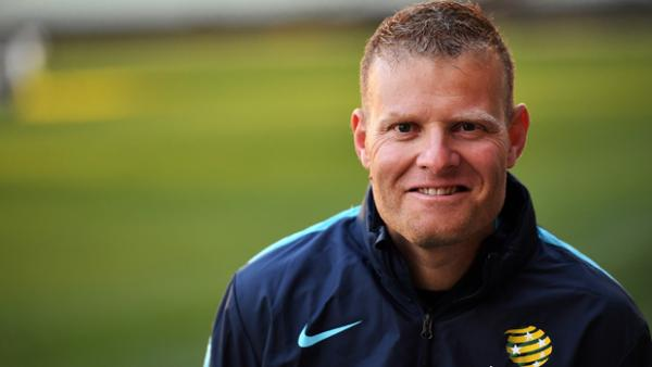 Australian Under-23's coach Josep Gombau.