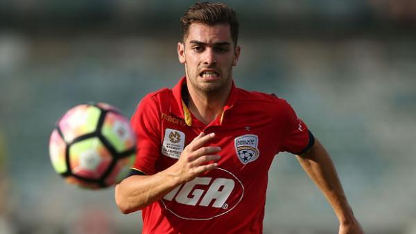 Adelaide United youngster Ben Garuccio.