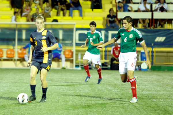 Mexico defeat Young Socceroos 4-2