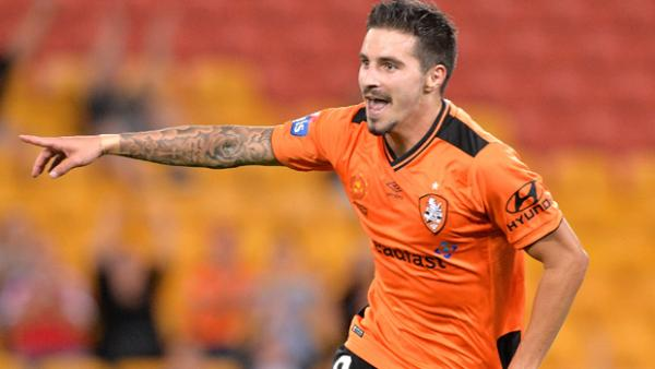 Jamie Maclaren has been in scintillating goal-scoring touch for Brisbane Roar.