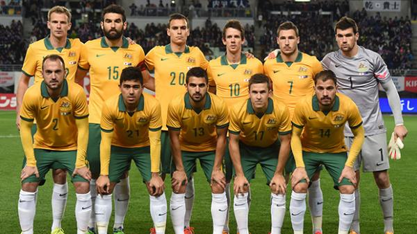 The Socceroos starting XI that took the field against Japan last month.