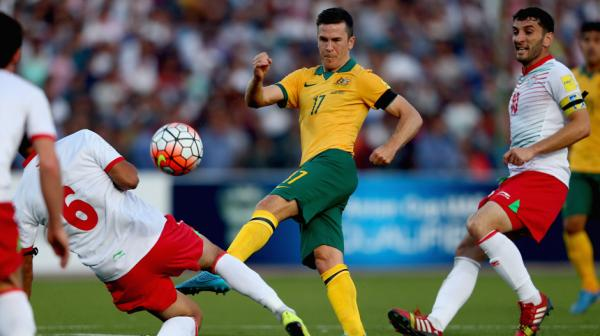 Matt McKay added energy and enthusiasm to the Socceroos midfield.