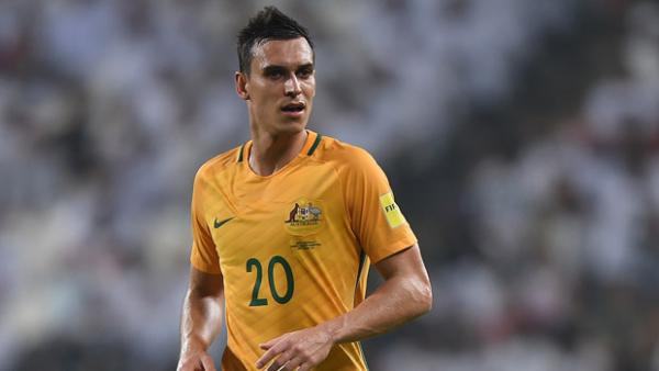Trent Sainsbury says Australia can measure themselves against Brazil on Tuesday night.