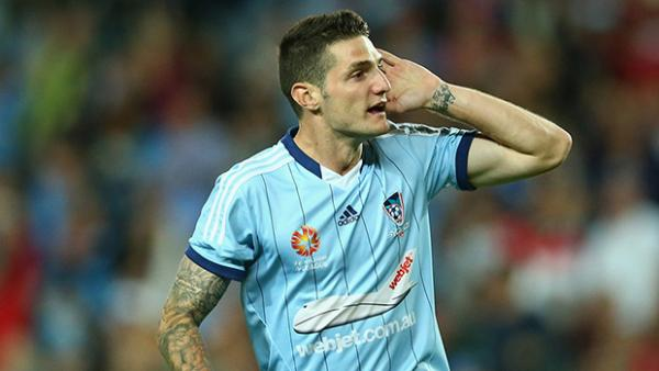 Sydney FC's Corey Gameiro netted the opening goal for the Olyroos.