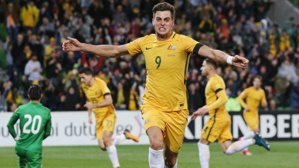 Tomi Juric netted the opener in Australia's win over Thailand in Melbourne.